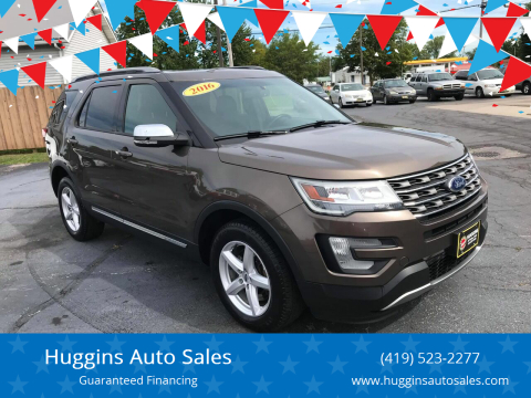 2016 Ford Explorer for sale at Huggins Auto Sales in Ottawa OH