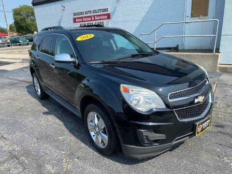 2013 Chevrolet Equinox for sale at Huggins Auto Sales in Ottawa OH
