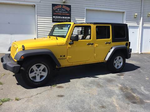 2008 Jeep Wrangler Unlimited for sale in Greer, SC