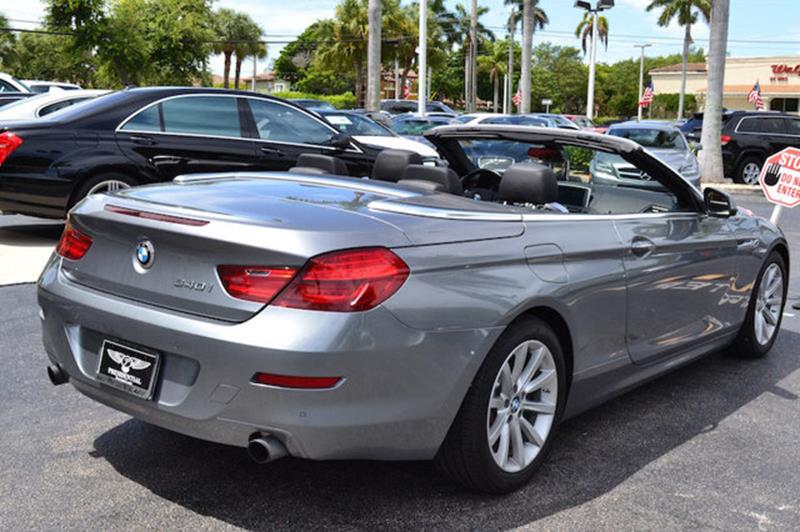 Bmw Series I Dr Convertible In Delray Beach FL - 2013 bmw 650i convertible for sale