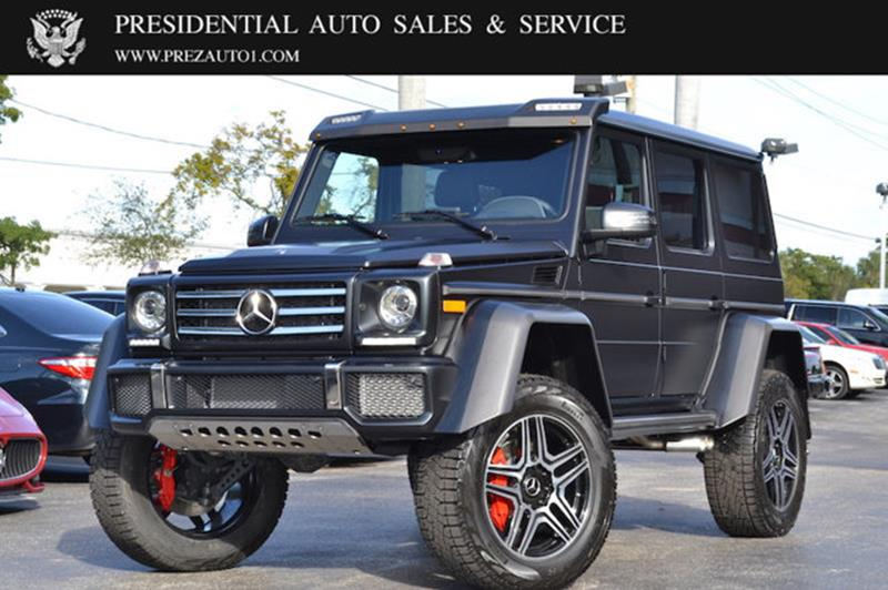 2018 mercedes benz g class awd g 550 4x4 squared 4dr suv for Mercedes benz delray inventory