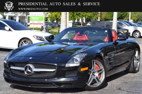2012 Mercedes Benz SLS AMG For Sale In Delray Beach, FL