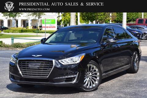 2017 Genesis G90 for sale in Delray Beach, FL