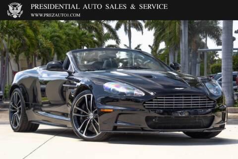 2011 Aston Martin DBS for sale at Presidential Auto  Sales & Service in Delray Beach FL