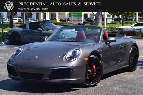 2019 Porsche 911 for sale in Delray Beach, FL