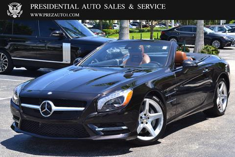 2013 Mercedes-Benz SL-Class for sale in Delray Beach, FL