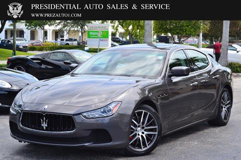 2016 Maserati Ghibli for sale in Delray Beach, FL
