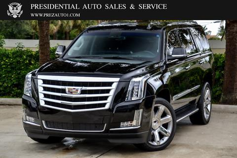 2018 Cadillac Escalade for sale in Delray Beach, FL