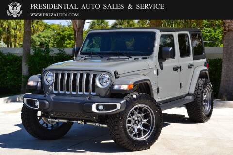 2020 Jeep Wrangler Unlimited for sale at Presidential Auto  Sales & Service in Delray Beach FL