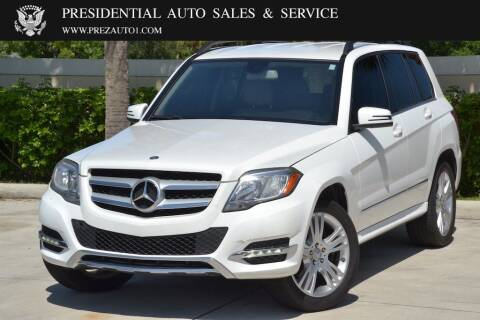 2014 Mercedes-Benz GLK for sale at Presidential Auto  Sales & Service in Delray Beach FL