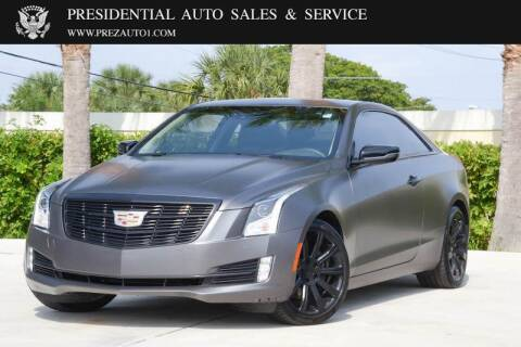 2017 Cadillac ATS for sale at Presidential Auto  Sales & Service in Delray Beach FL