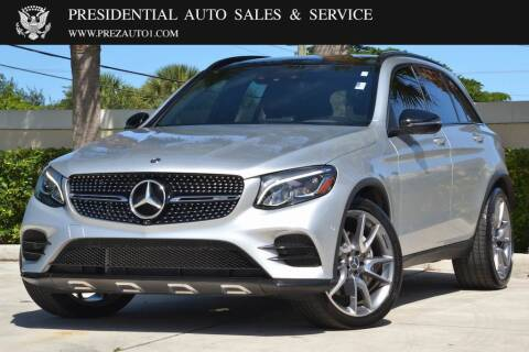 2018 Mercedes-Benz GLC for sale at Presidential Auto  Sales & Service in Delray Beach FL