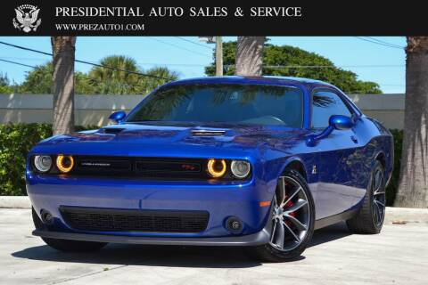 2018 Dodge Challenger for sale at Presidential Auto  Sales & Service in Delray Beach FL