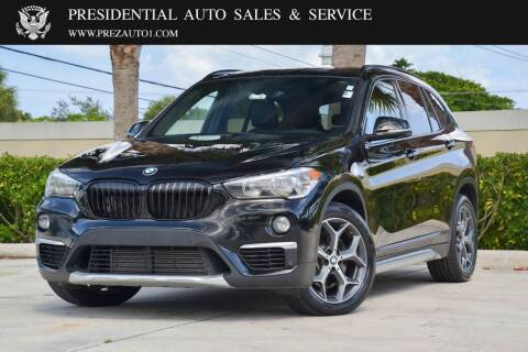 2017 BMW X1 for sale at Presidential Auto  Sales & Service in Delray Beach FL