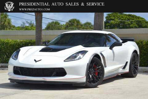 2015 Chevrolet Corvette for sale at Presidential Auto  Sales & Service in Delray Beach FL