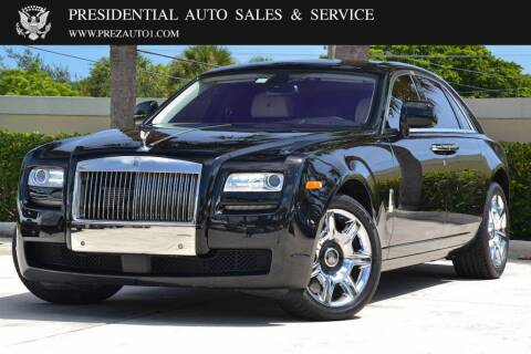 2010 Rolls-Royce Ghost for sale at Presidential Auto  Sales & Service in Delray Beach FL