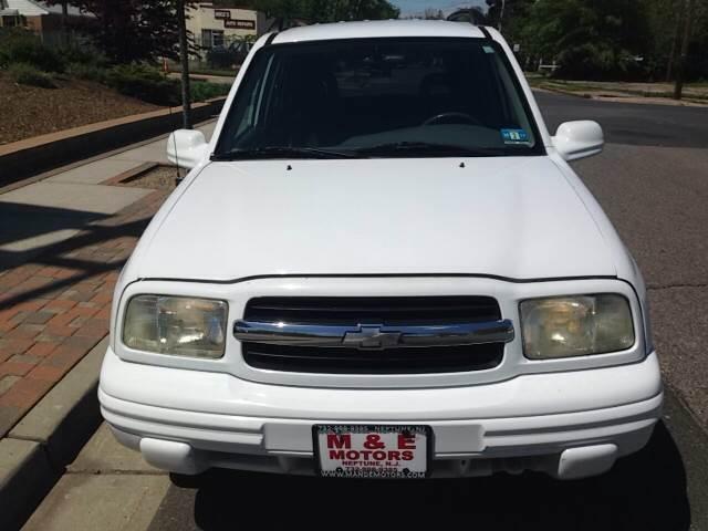 2003 Chevrolet Tracker for sale at M & E Motors in Neptune NJ
