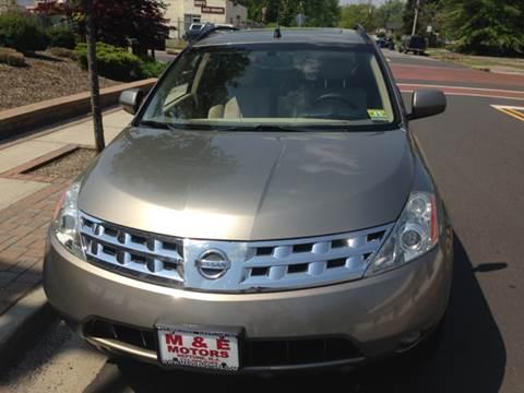 2004 Nissan Murano for sale at M & E Motors in Neptune NJ