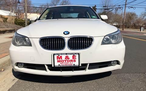 2005 BMW 5 Series for sale at M & E Motors in Neptune NJ