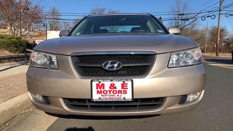 2006 Hyundai Sonata for sale at M & E Motors in Neptune NJ