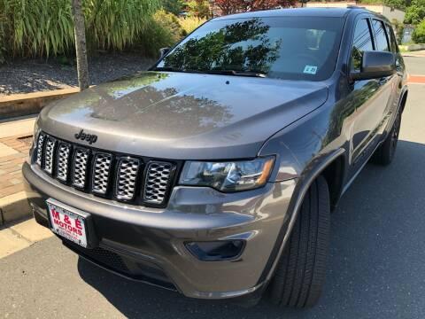 2018 Jeep Grand Cherokee for sale at M & E Motors in Neptune NJ