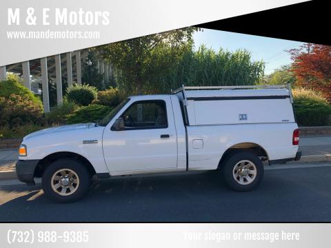 2011 Ford Ranger for sale at M & E Motors in Neptune NJ