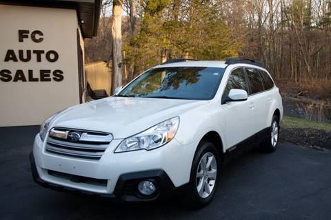 2013 Subaru Outback 2.5i Premium for sale at FC Auto Sales in Hampden MA