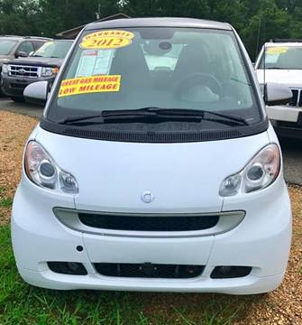 2012 Smart fortwo for sale in Brookland, AR