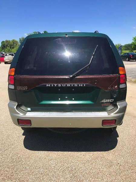 2002 Mitsubishi Montero Sport XLS 4WD 4dr SUV - Brookland AR