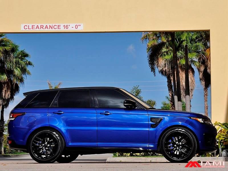 2016 Land Rover Range Rover Sport AWD SVR 4dr SUV - Miami FL