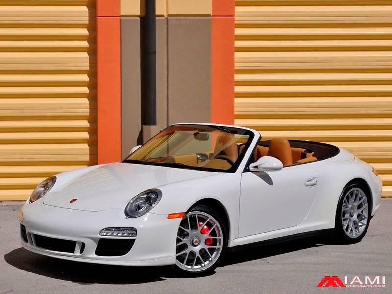 2012 Porsche 911 AWD Carrera 4 GTS 2dr Convertible - Miami FL