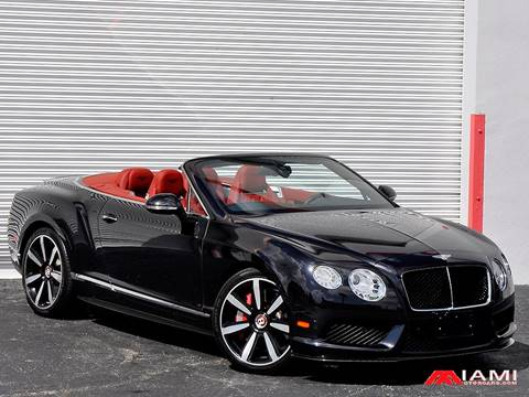 2013 Bentley Continental GTC V8 for sale in Miami, FL
