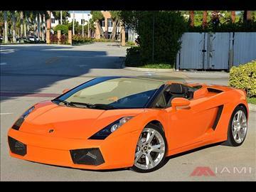 2007 Lamborghini Gallardo for sale in Miami, FL