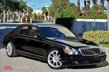 2009 Maybach 57 for sale in Miami, FL