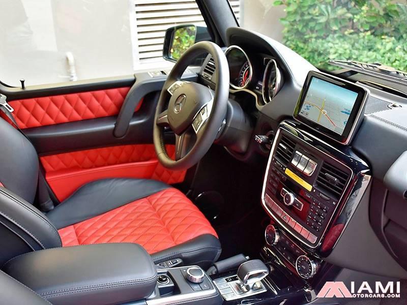2016 Mercedes-Benz G-Class AWD AMG G 63 4MATIC 4dr SUV - Miami FL