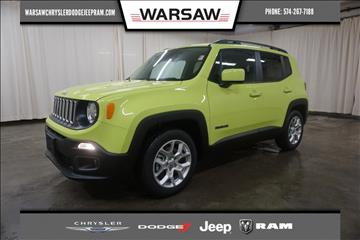 2017 Jeep Renegade for sale in Warsaw, IN