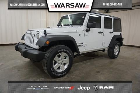 2017 Jeep Wrangler Unlimited for sale in Warsaw, IN