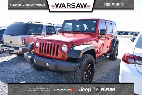 2010 Jeep Wrangler Unlimited for sale in Warsaw, IN