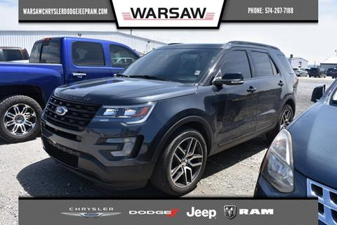 2017 Ford Explorer for sale in Warsaw, IN