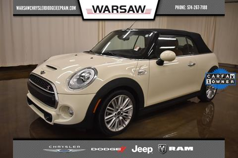 2017 MINI Convertible for sale in Warsaw, IN