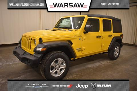 2020 Jeep Wrangler Unlimited for sale in Warsaw, IN
