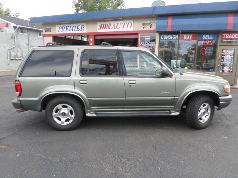 2000 Ford Explorer 4dr Limited 4WD SUV - Wheat Ridge CO