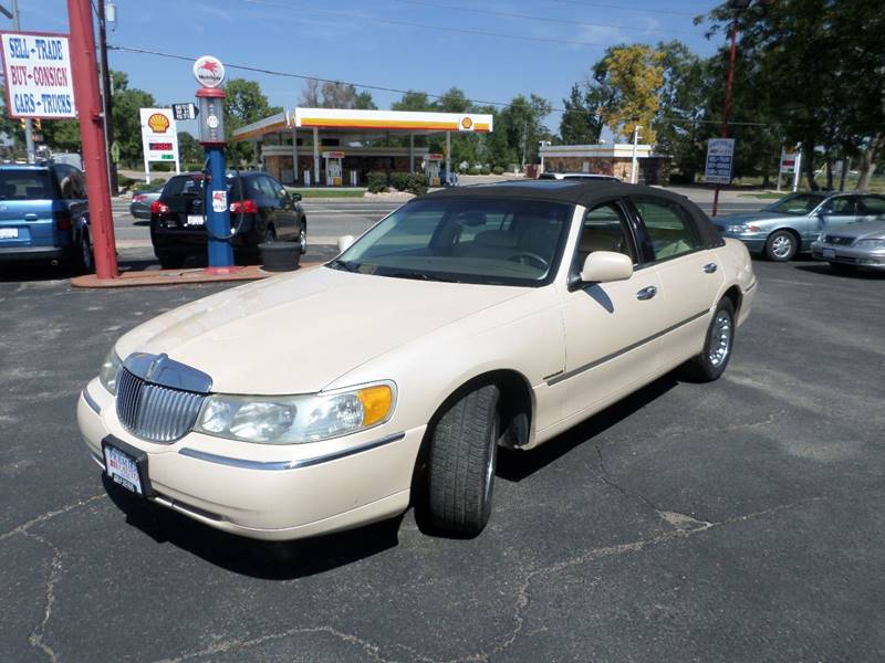 1998 Lincoln Town Car Cartier 4dr Sedan In Wheat Ridge Co Premier Auto
