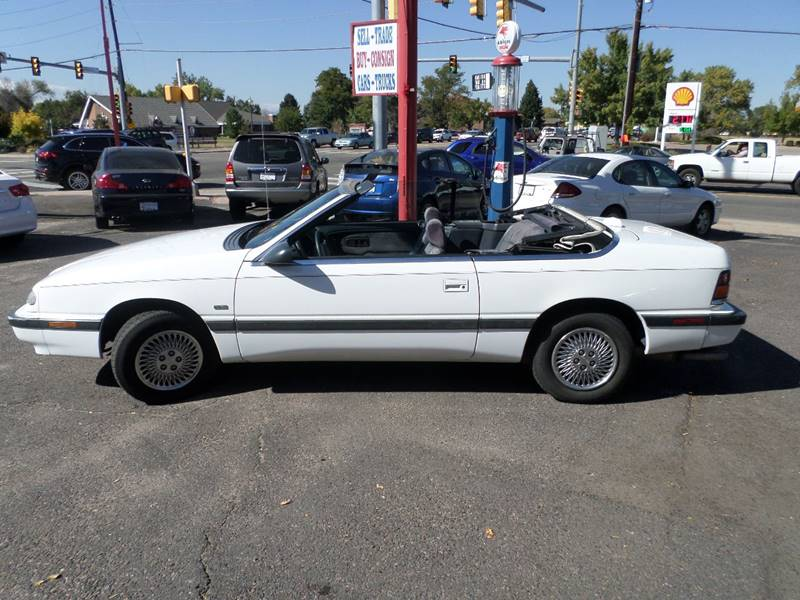 1993 Chrysler Le Baron LX 2dr Convertible - Wheat Ridge CO