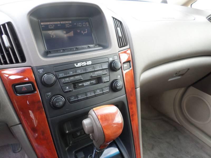 2002 Lexus RX 300 2WD 4dr SUV - Wheat Ridge CO