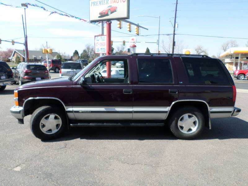 1997 Chevrolet Tahoe 4dr LS 4WD SUV - Wheat Ridge CO