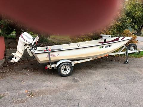 1990 Boston Whaler 13' for sale at AUTO BROKER CENTER in Lolo MT