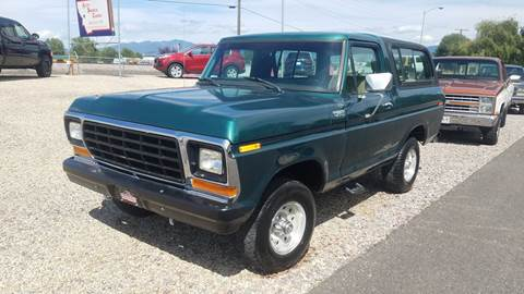 1979 Ford Bronco for sale in Missoula, MT