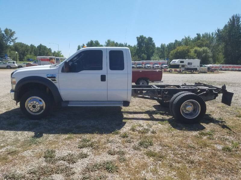2008 Ford F-450 Super Duty 4X4 4dr SuperCab 161.8 in. WB - Lolo MT