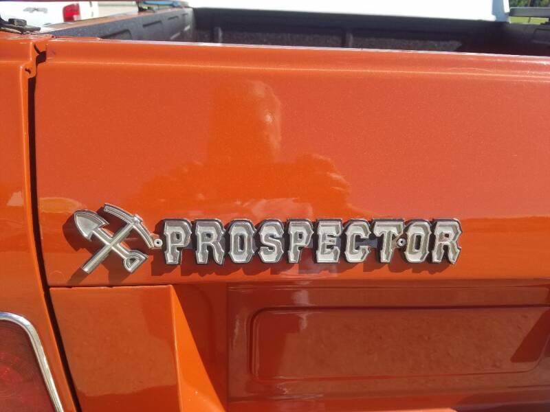 """1978 International SCOUT TERRA """"PROSPECTOR"""" - Lolo MT"""